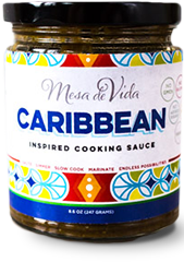 Caribbean inspired cooking sauce