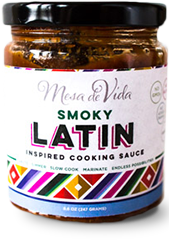 Smoky Latin inspired cooking sauce