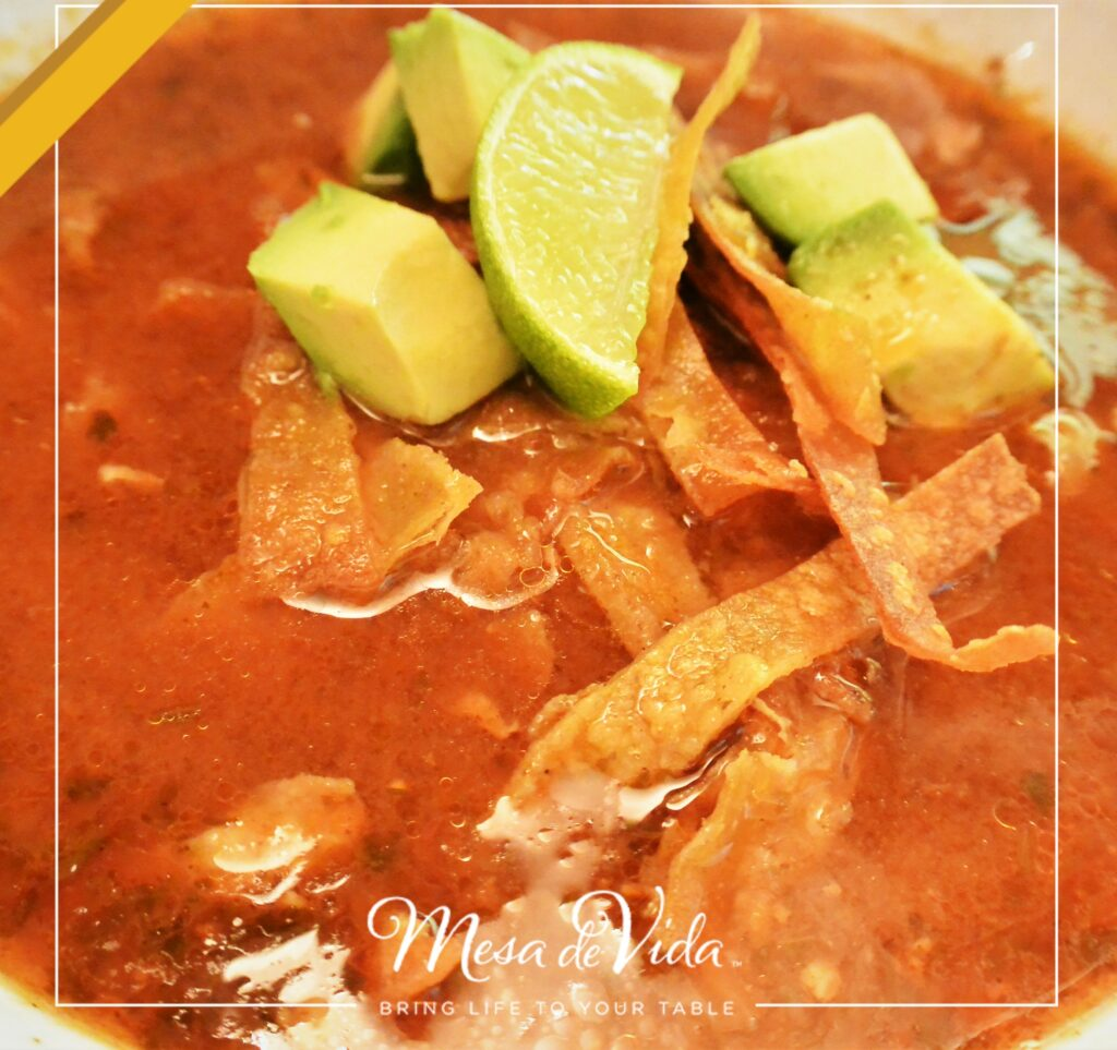 Easy, healthy tortilla soup recipe