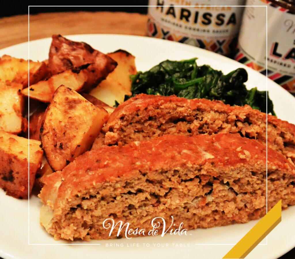 Juicy, Tender, Healthy Meatloaf Recipe