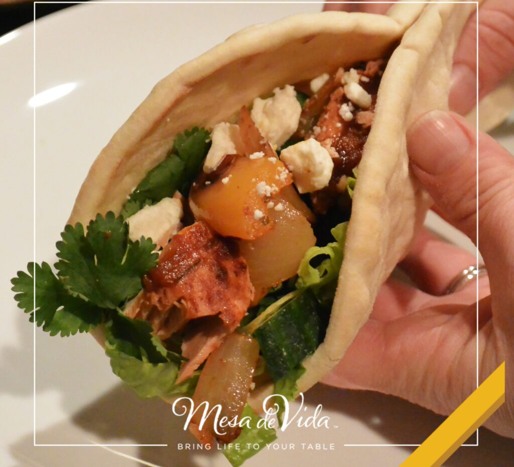 Healthy Salmon and Feta Wrap Recipe