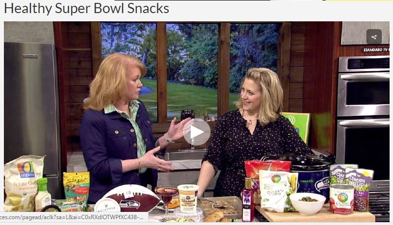 KATU AM Northwest Heart Healthy Super Bowl Recipes