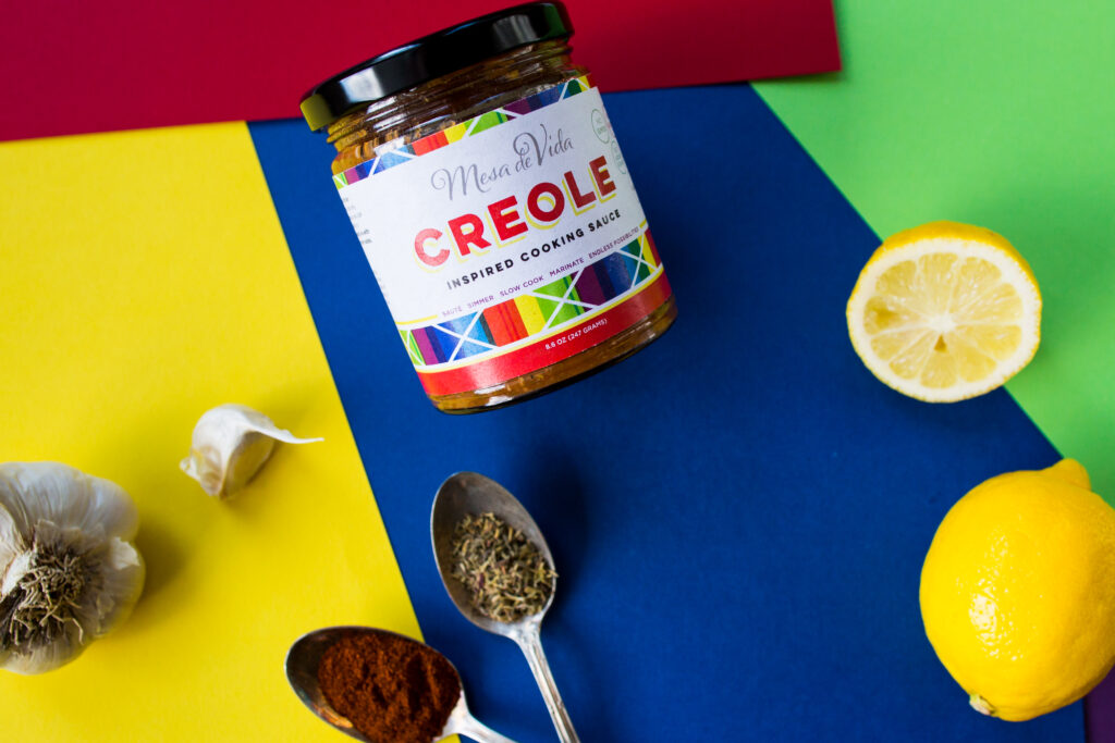 Mesa de Vida Creole inspired healthy cooking sauce