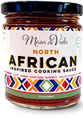 North African inspired cooking sauce