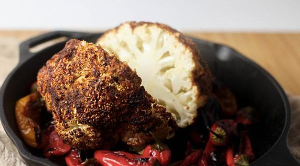 creole roasted cauliflower image