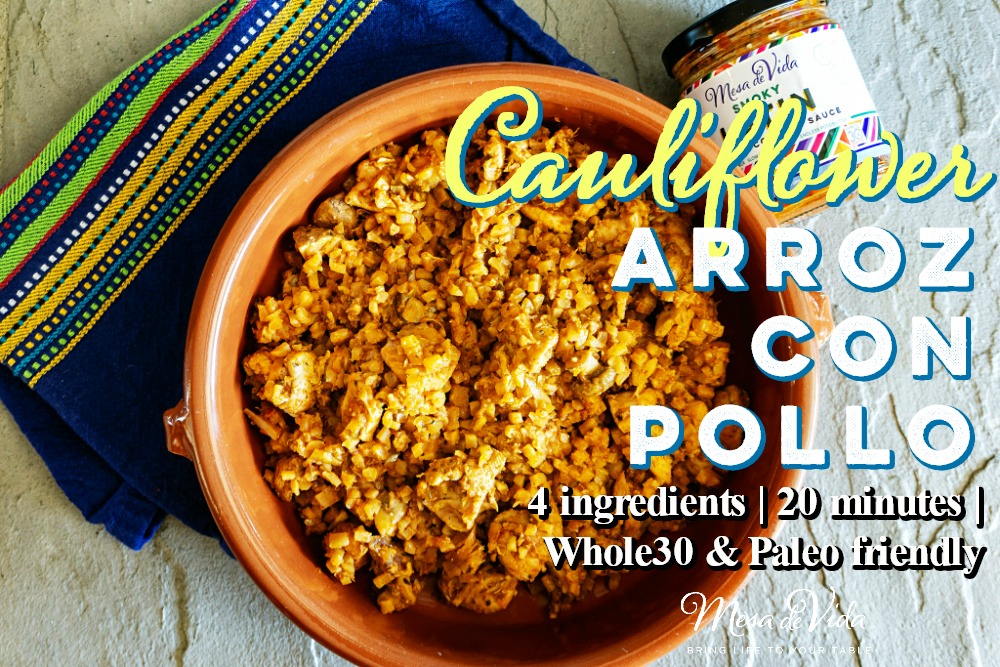 Whole30 Arroz con pollo recipe