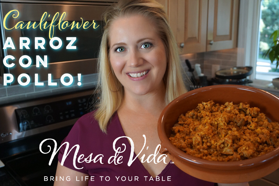 How to make Arroz con Pollo Whole30 and Paleo
