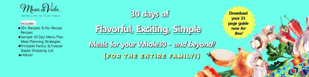 month of whole30 meal plan download