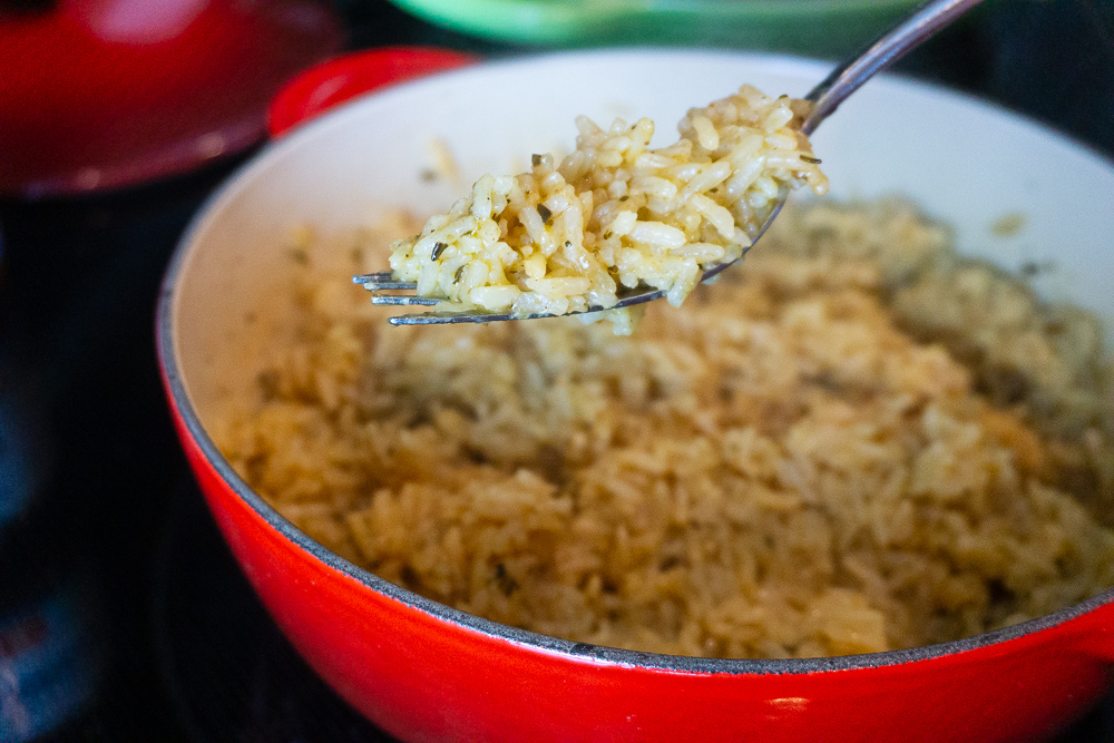 Perfect, flavorful rice recipe