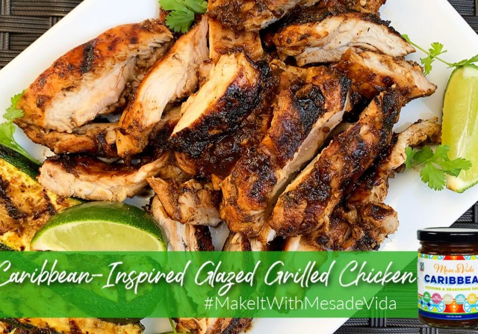 Caribbean grilled chicken recipe